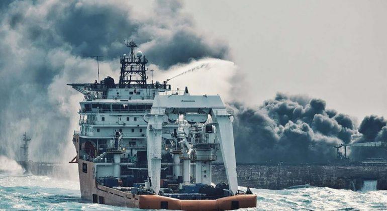 Mer de Chine: la marée noire triple de taille en 4 jours